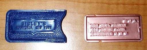 кредитная карта из металла