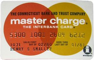 Межбанковская карточка Master Charge
